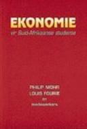 Ekonomie vir Suid-Afrikaanse Studente - ECS1601 book cover