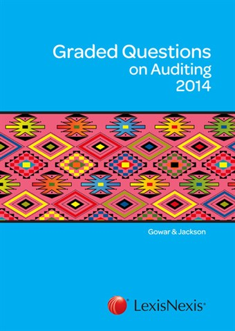 Graded Questions on Auditing - aue2602 book