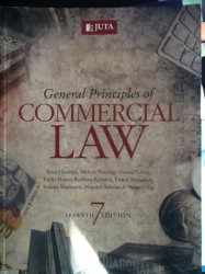 General Principles of Commercial Law - cla1501 book