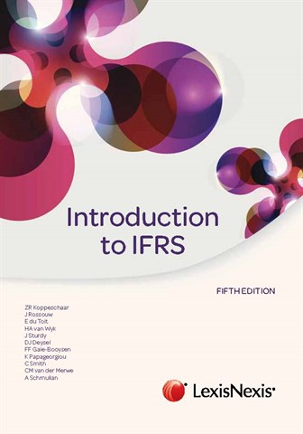 Introduction to IFRS - fac2601 book