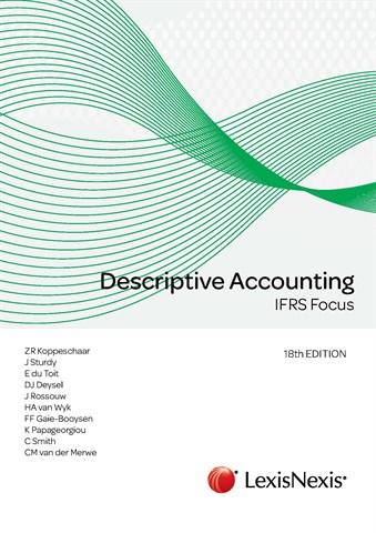 DESCRIPTIVE ACCOUNTING - FAC3703 book