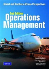 Operations management. Global and South African perspectives - mno2601 book