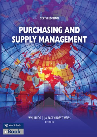 Purchasing & Supply Management - mnp2601 book