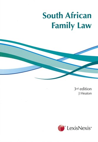 South African Family Law - pvl2601 book