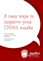 3 easy ways to improve your unisa marks