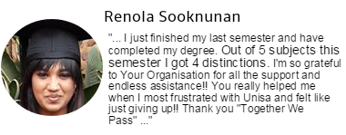 Renola Sooknunan's testimonial