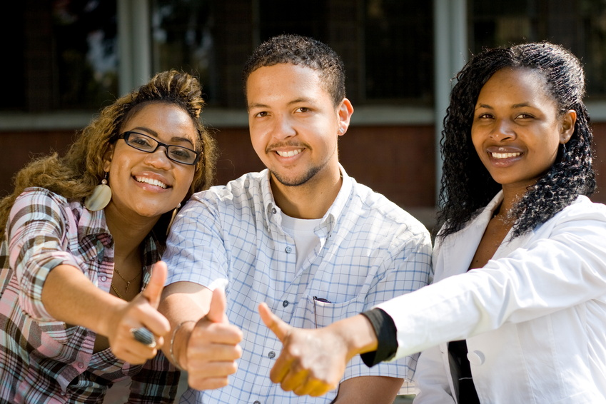 UNISA students in a together we pass study group