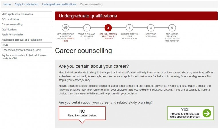Unisa-Career-Counselling