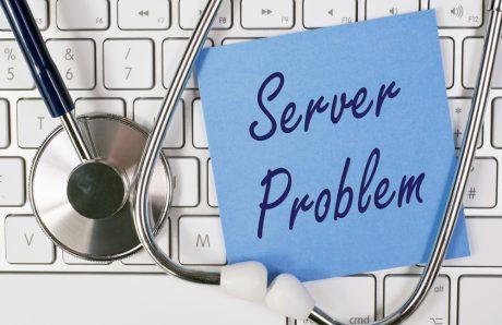 UNISA server down