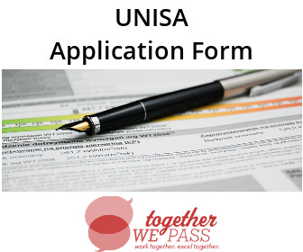 UNISA Application Form
