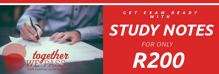 Study Notes for only R200