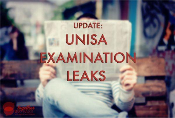 Update: Unisa Exam Leaks